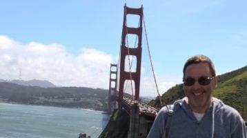 Simon Griffiths in San Francisco